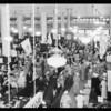 Crowd on main floor, Southern California, 1933