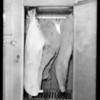 Meat refrigerator, Southern California, 1931