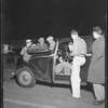 Night scenes at Ascot oil test run, Southern California, 1933