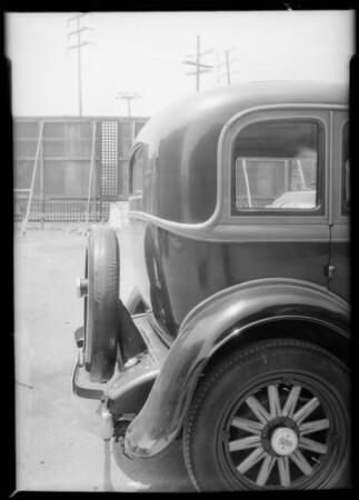 Willys sedan, Southern California, 1932