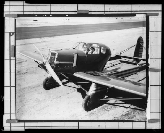 1/8 plane, Southern California, 1935