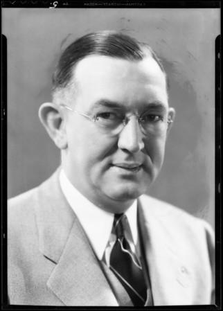 Portraits, White Truck Co., Southern California, 1933