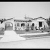 Three houses, Southern California, 1933