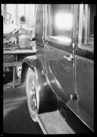 Lincoln sedan, P.O. 513030 - Rogers, owner, Southern California, 1932