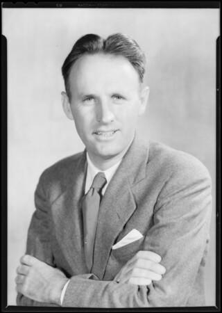Portrait of Mr. J. C. McCluskey, Southern California, 1931