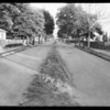 Intersection, Juniper Street and East 105th Street, Watts,  Los Angeles, CA, 1931