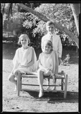 Childrens group, Southern California, 1931