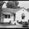 Her house, Mrs. Bosher, 3834 Wisconsin Street, Los Angeles, CA, 1932