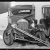 Case of Gross vs. Stephenson, Chrysler sedan, A.M. Gross assured Durant sedan, Stephenson, owner, Southern California, 1933