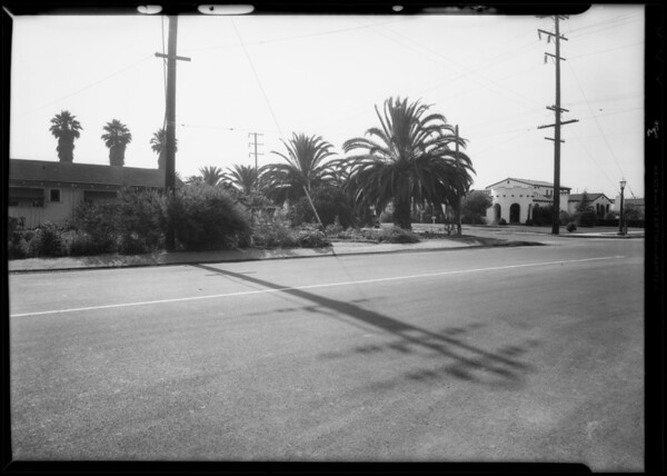 Intersection of Live Oak and Sunset, Temple City, CA, 1932