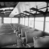 Glendora school buses, Crown Body Corporation, Southern California, 1933