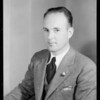Portrait of Mr. Cooke, Southern California, 1933