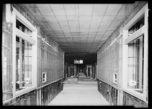 County Hospital, Western Lathing Company, Los Angeles, CA, 1932