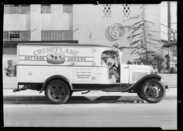 Photos for Dealers booklet, Western Dairies, Southern California, 1932