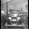Ford sedan, Jack Horning,  owner, Al Monroe, assured, Southern California, 1934