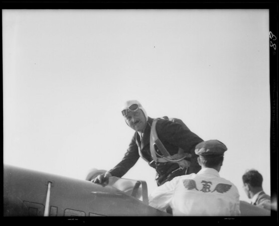National Air Races, Southern California, 1933