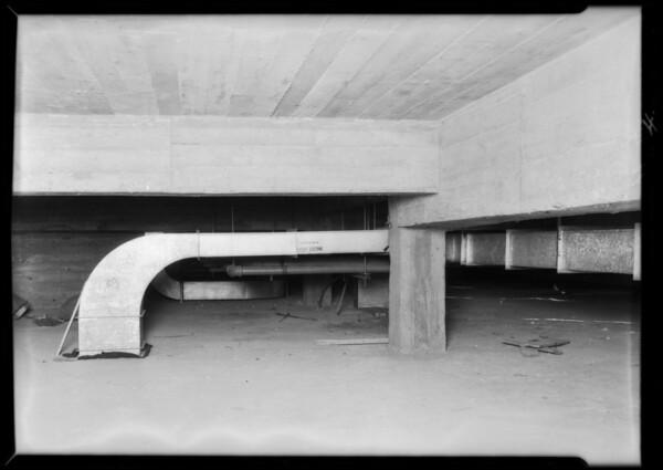 County Hospital installations, Haverty Co., Los Angeles, CA, 1932