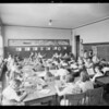 School activities, Humphreys Avenue School, 500 South Humphreys Avenue, Los Angeles, CA, 1931