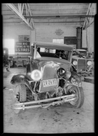 Chevrolet coach, Southern California, 1932