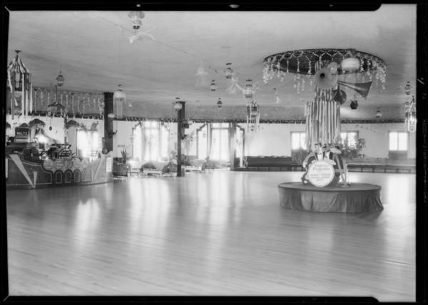 Zenda Dancing Academy, 936 1/2 West 7th Street, Southern California, 1932