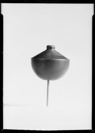 Toilet ball, Southern California, 1932