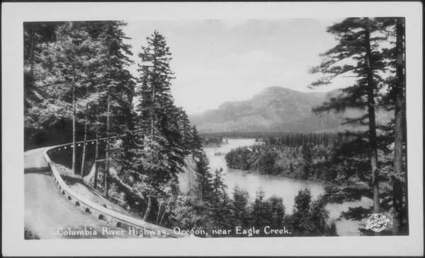 Columbia River Highway, Oregon, 1932