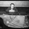 Ted Fio Rito at piano, Southern California, 1935