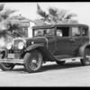 Cadillac belonging to Mr. Mallory, Southern California, 1932