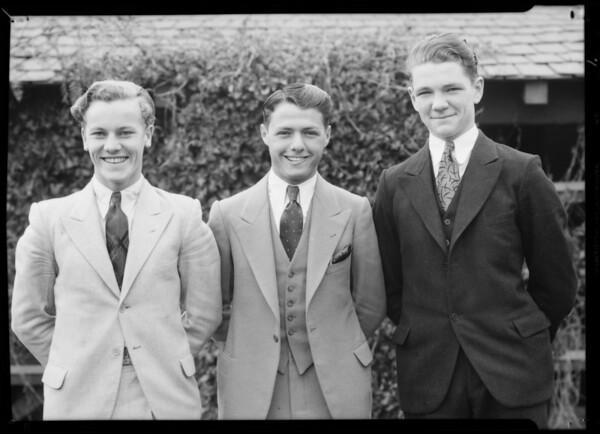 Boys' day, California Breakfast Club, Southern California, 1932