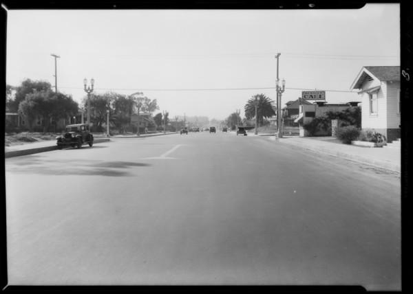 Intersection of Lincoln Boulevard & Michigan Avenue, Santa Monica, CA, 1932