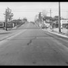 Intersection, North Alvarado Street and West Temple Street, Los Angeles, CA, 1932