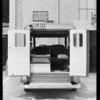 Bureau of Water & Power ambulance, Southern California, 1932