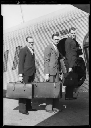 Bankers going to San Francisco for debate, Southern California, 1932