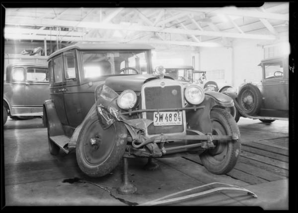 Nash sedan, Glendale, Karl Homoutch, owner, Southern California, 1932