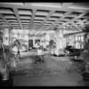 Interior & exterior views of Constance Hotel, Pasadena, CA, 1932