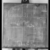 Blackboard, case, Snyder vs. Rectana, Southern California, 1932