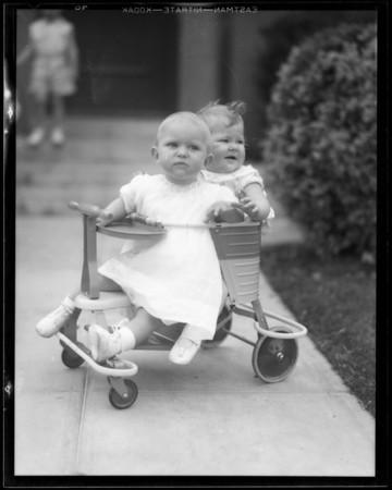 Eleanor's birthday, Southern California, 1932