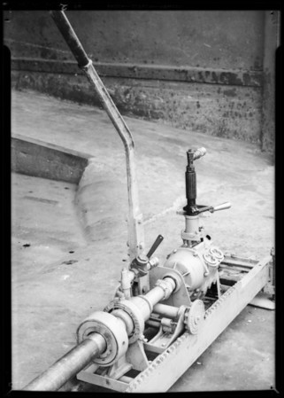Hydrauger, Southern California, 1932