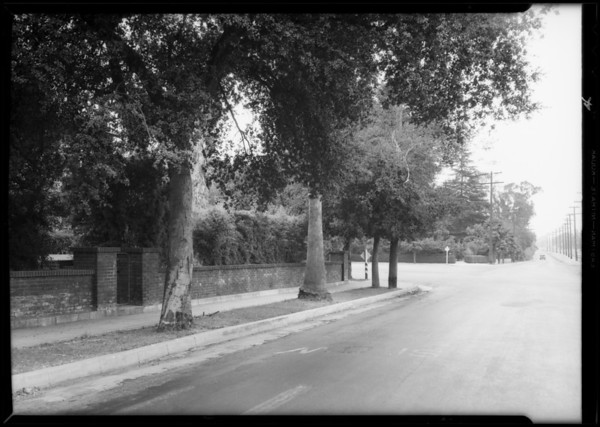 Intersection, San Marino, CA, 1932
