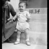 Baby - 12 months old, Southern California, 1932