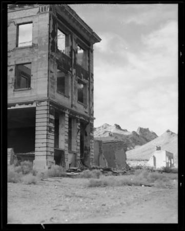 Rhyolite, Nevada, 1932