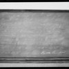 Shorthand contest blackboards, Southern California, 1933
