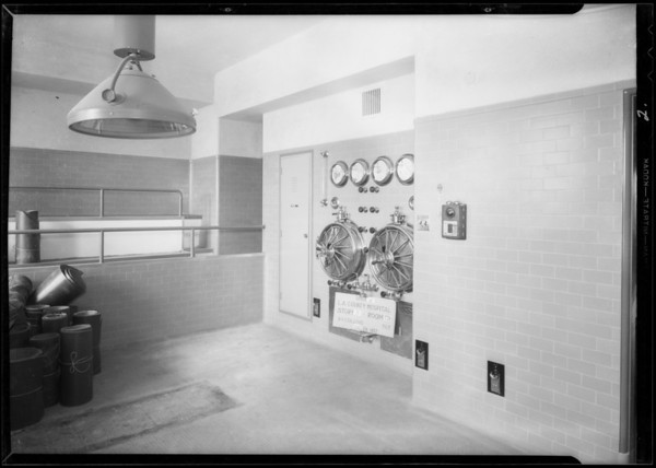 County Hospital, Collins Co., Los Angeles, CA, 1932