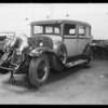 LaSalle sedan, Elsie Freirich, owner, Southern California, 1932