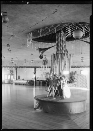 Zenda Dancing Academy, 936 1/2 West 7th Street, Southern California, 1932