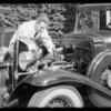 Pontiac V8 motor, Southern California, 1932