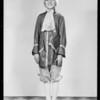 Edward as Lafayette (school tableau), Southern California, 1932
