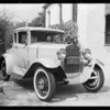 Ford coupe, William R. Boone, owner, Glendale, CA, 1932