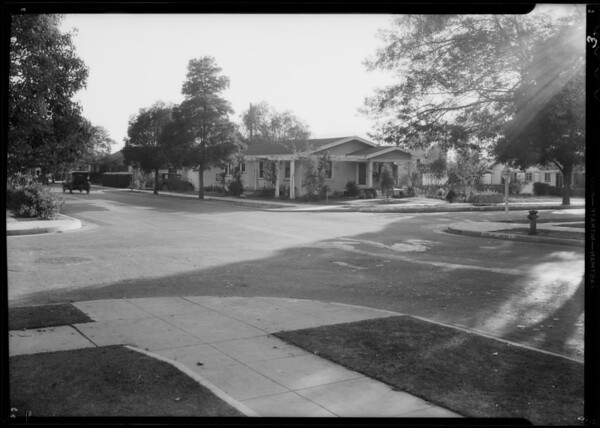 Intersection of North Pacific Avenue and West Lexington Drive, Glendale, CA, 1932