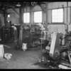 Factory photos, Southern California, 1933
